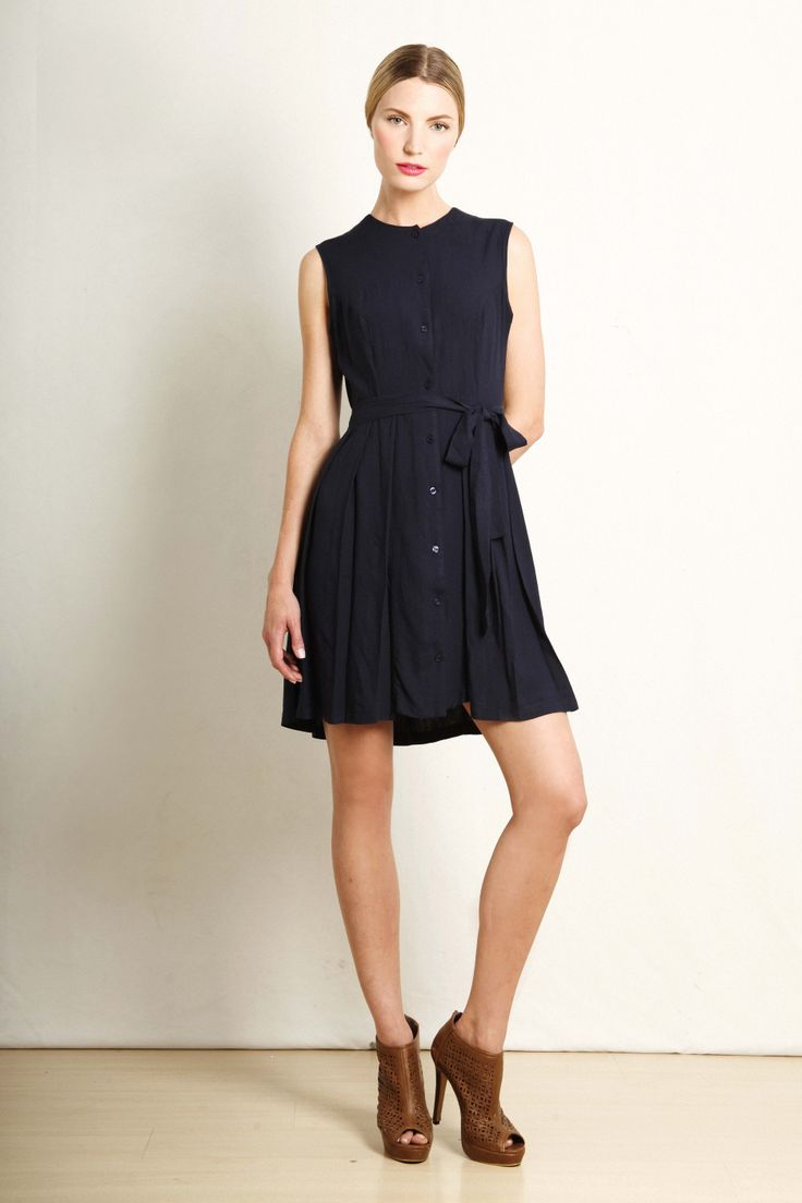 Margot dress in navy  GB203-NVY  R740.00  www.georgieb.com