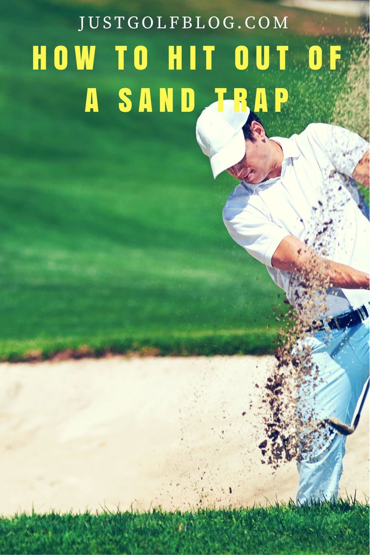 How to Hit Out of a Sand Trap, how to hit a sand shot in golf, how to trap the golf ball, getting out of sand traps in golf. #golf #golftips