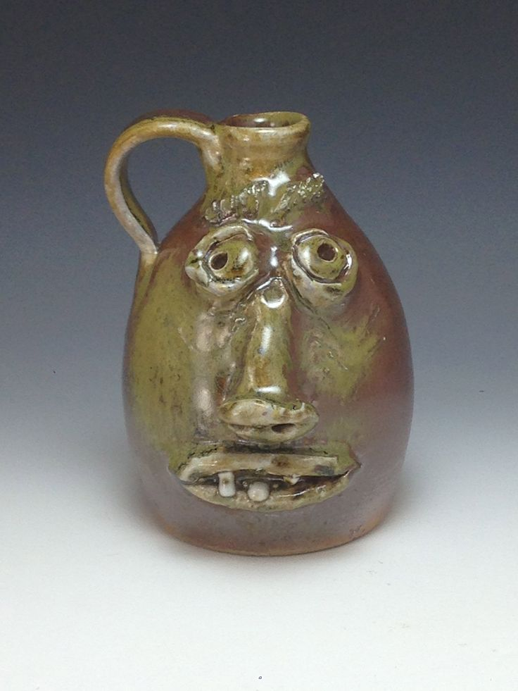 Growler facejug #traditional #woodfired #southernpottery #alabama