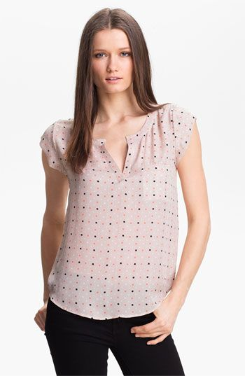 Joie 'Ryanna' Silk Top available at #Nordstrom