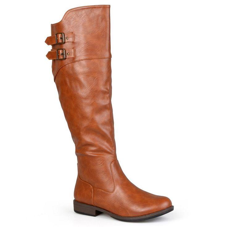 Journee Collection Tori Women's Knee-High Boots, Size: medium (7.5), Lt Brown