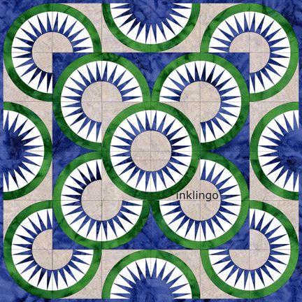 Quilt Designs with New York Beauty 03 on http://www.lindafranz.com/blog/quilt-designs-with-new-york-beauty-03/