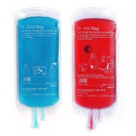 """Emergency's """"Cool & Hot Pack"""" Heb je een kater en jezelf gestoten, dan zijn deze """"Cool & Hot Packs"""" ideaal!"""