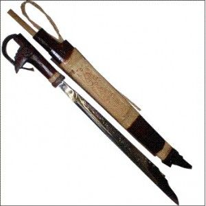 Mandau and Talawang, Dayak Traditional Weapons of Central Borneo