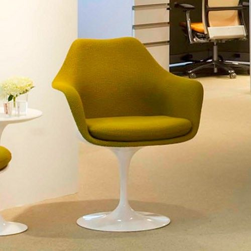 Tulip Armchair Fully Upholstered Knoll Chairs Tulip
