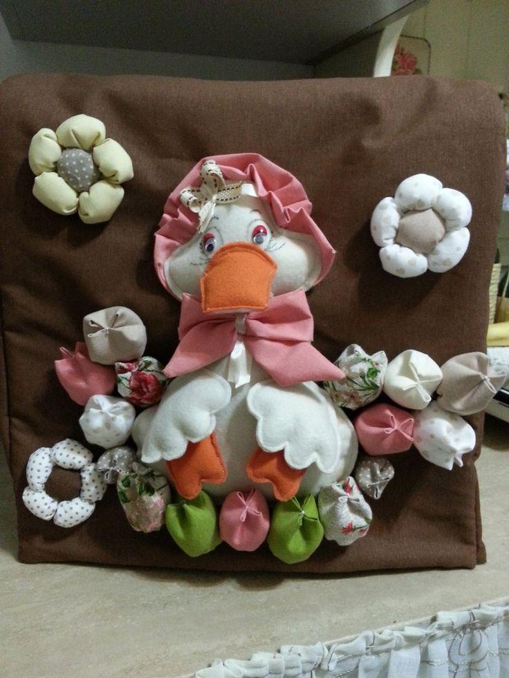 Copri Bimby in tessuto fatto a mano con papera, by krison, 36,00 € su misshobby.com