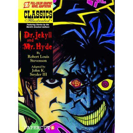 "This classic tale is a favorite of comics fans.  Not only is it the inspiration for The Incredible Hulk, but Alan Moore, writer/creator of the best-selling Watchmen graphic novel, used Dr. Jekyll and Mr. Hyde in his original graphic novel series, The League of Extraordinary Gentleman, thus making this CLASSICS ILLUSTRATED version of the original novel sort of an ""origin"" story for the monstrous Mr. Hyde."