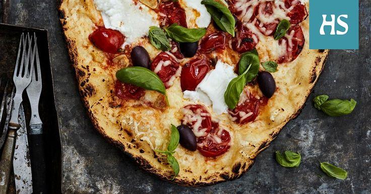 Paista grillissä maailman parhaat pizzat, pullat ja ihana valuva suklaakakku. Helpointa leivonta on kaasugrillissä, jossa lämmön voi säätää sopivan tasaiseksi.