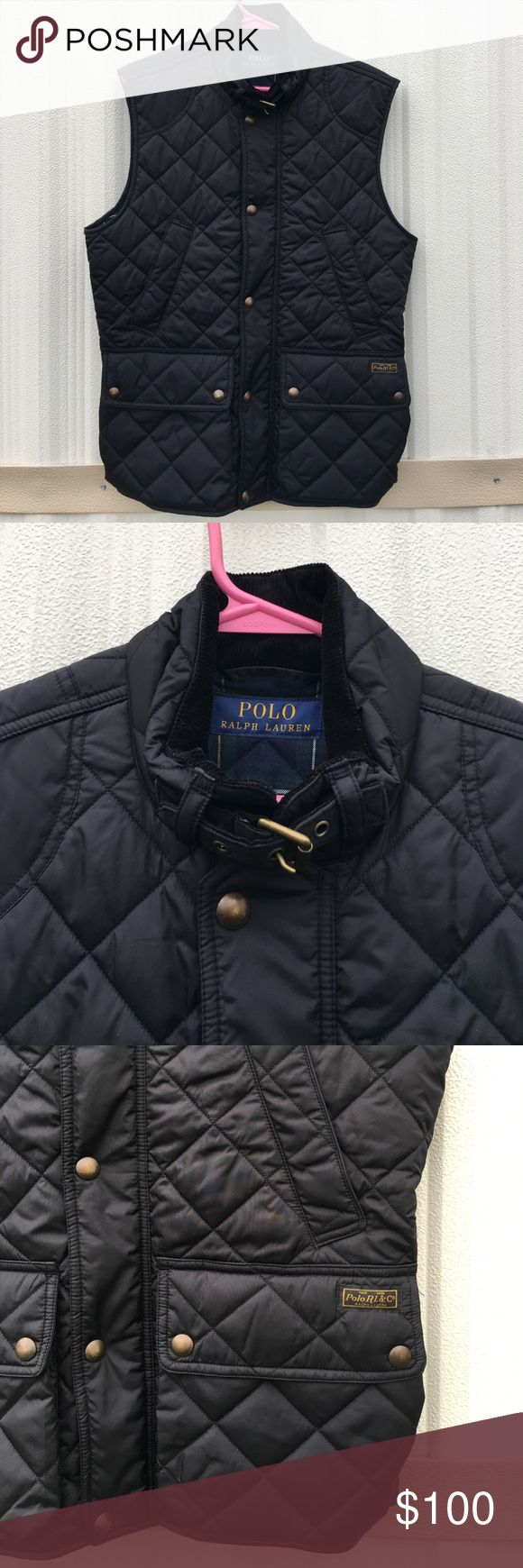 "Polo Ralph Lauren Blue Label Puffer Vest Size S Polo Ralph Lauren Blue Label Puffer Vest Size Small 20"" Underarm 28"" Length Polo by Ralph Lauren Jackets & Coats Puffers"