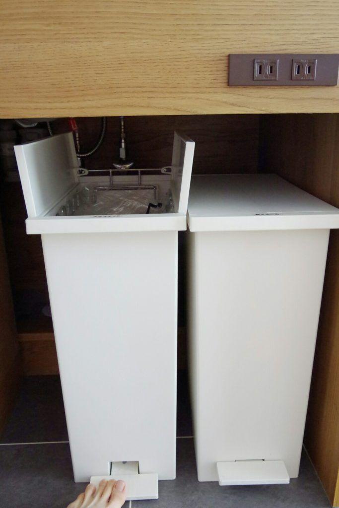 キッチンごみ箱のおすすめ置き場所 新築だからできる収納方法を紹介