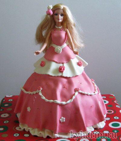 Торт Платье для Принцессы