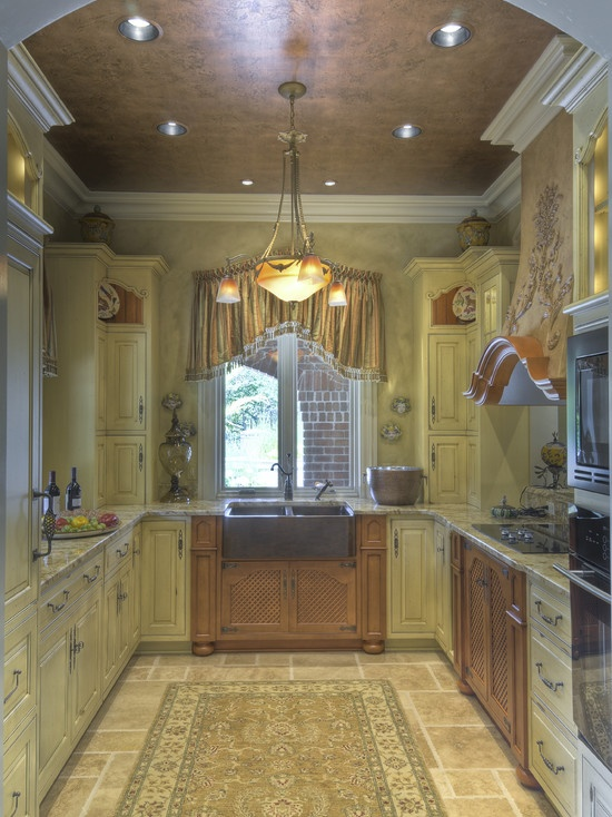 Small galley kitchens design pictures remodel decor and for Two way galley kitchen designs