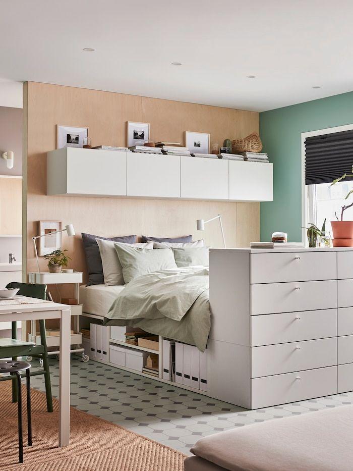 Platsa White Fonnes Bed With 10 Drawers Ikea Arredamento Idee Arredamento Camera Da Letto Camera Da Letto Idee