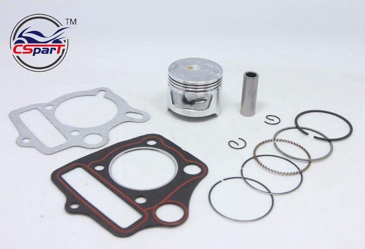[Visit to Buy] 47MM Piston Rings Kit TRX90 CRF90 90cc ATV Bike Dirt Pit Bikes engine SunL Taotao Lifan ZongShen Loncin Parts #Advertisement