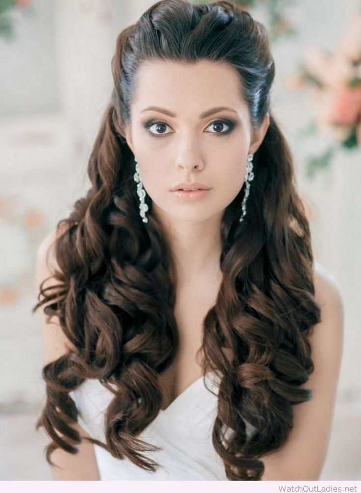 Wedding Hairstyle! Curly and fashionable? Yes, in trend! Try now <3