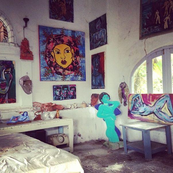 Symon's Art Zoo: UBUD