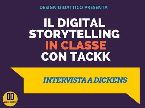 Integrare il Digital Storytelling in classe: intervista a Dickens   Design Didattico