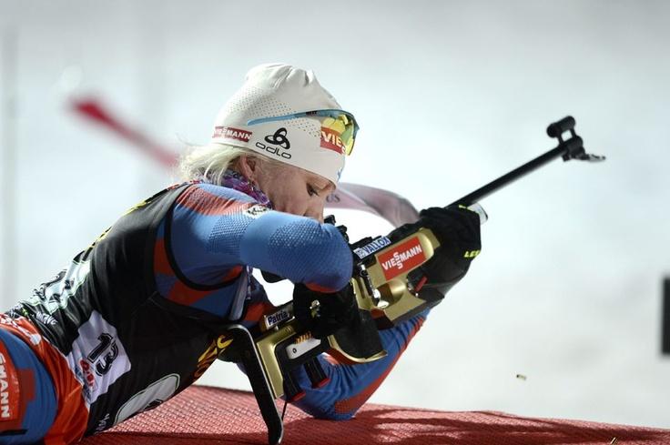 Kaisa Mäkäräinen, Biathlon