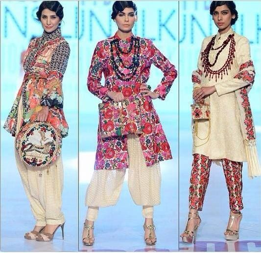 Latest New Wear Outfits Dresses Collection 2014 For Women by Khaadi Khaas (6)
