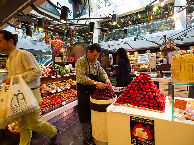 Shop Like a Local at Madrid's Best Food Markets - Condé Nast Traveler