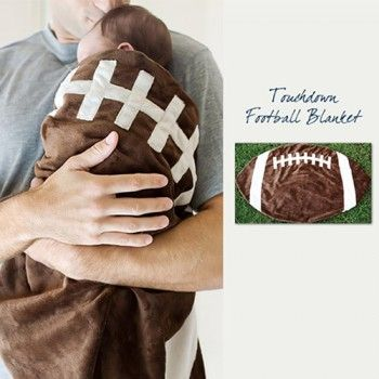 Football Baby BlanketSpecial Baby Shower Gifts