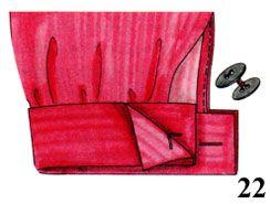 Procesamiento del dobladillo de la manga | clases de costura pokroyka.ru-corte y