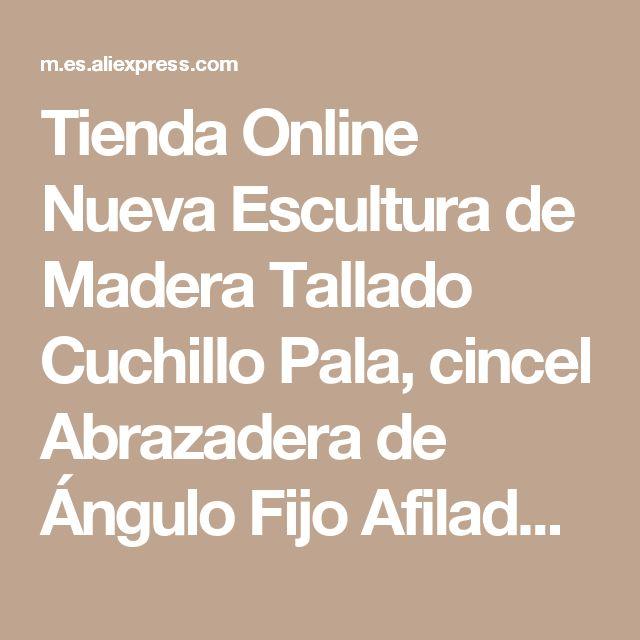 Tienda Online Nueva Escultura de Madera Tallado Cuchillo Pala, cincel Abrazadera de Ángulo Fijo Afilador Cuchillo Afilado Guía | Aliexpress móvil