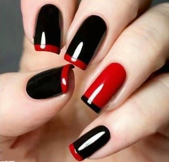 This manicure is the cutest!