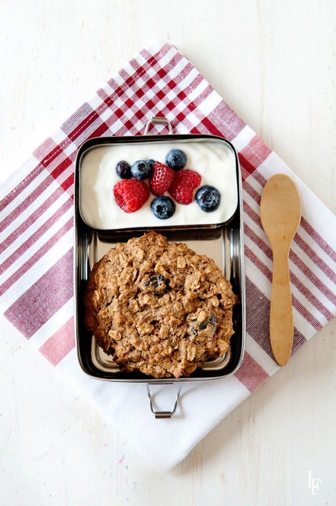 Oatmeal Breakfast Cookie from The Best Homemade Lunches on the Planet by Laura Fuentes