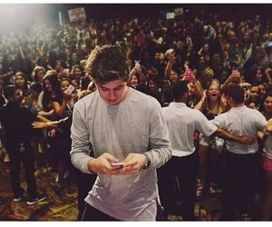 Nash grier and fans