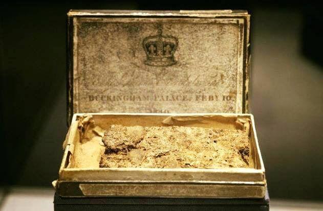 Piece of Queen Victoria's wedding cake