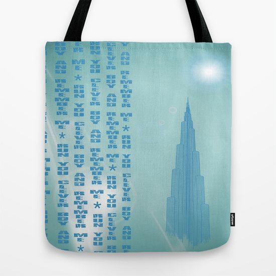 Run You Clever Boy #Tote #Bag by Helle Gade - $22.00 #Soceity6