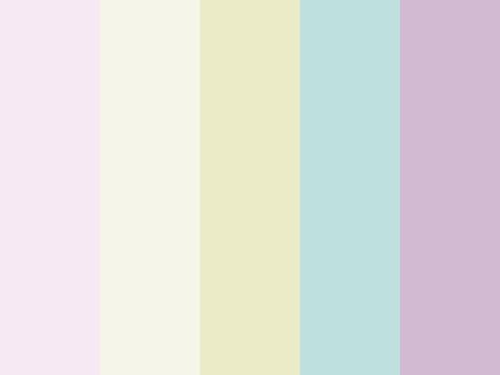 Ice cream parlour palette