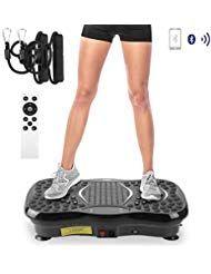 AGM 3D Vibrationsplatte VP 200 Profile Vibrationsgerät Fitness mit 3D Wipp Vibr…