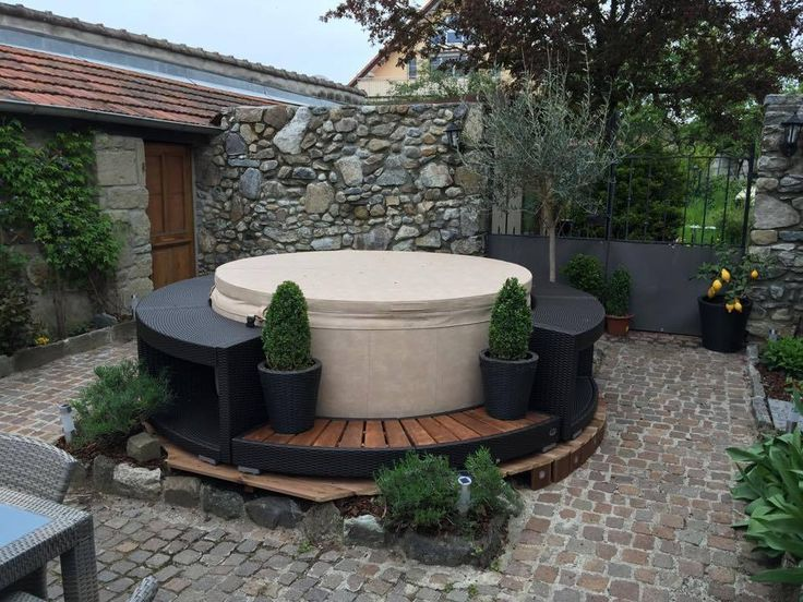 60 best Garten Pool Softub images on Pinterest Jacuzzi, Pools - whirlpool im garten