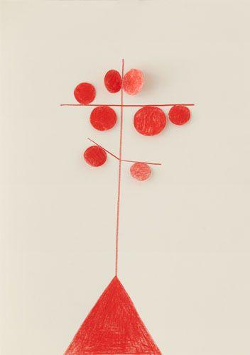 Absolutely enamored by Sabine Finkenauer's minimalist collages. (via Booooooom)