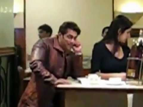 Salman Khan and Katrina Kaif seen together at a restaurant - LEAKED VIDEO.