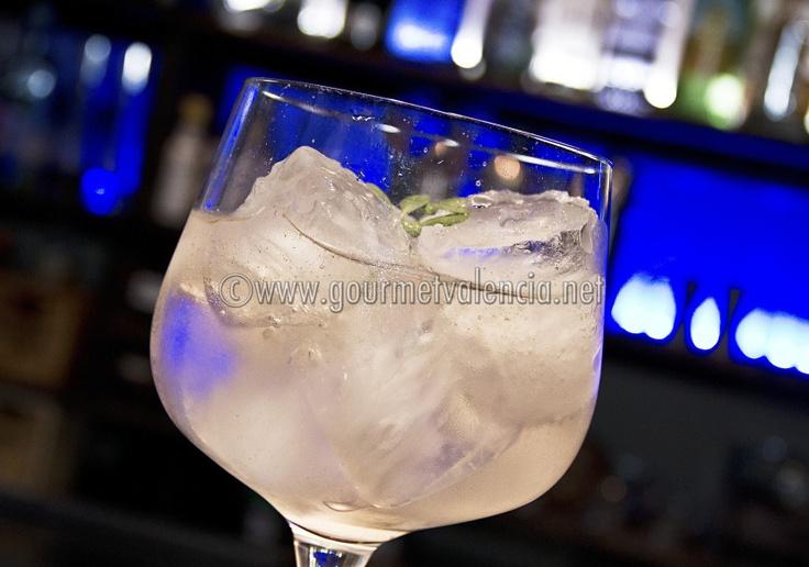 Gin tonic campeón del Origin's by Schweppes Valencia 2012
