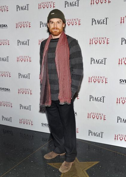 Michael C. Hall at the Silent House premiere