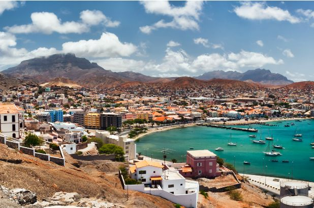 The wide streets, cobbled squares and 19th-century European architecture all contribute to the sense of colonial history in Mindelo. Cape Verde: the Bradt Guide; www.bradtguides.com