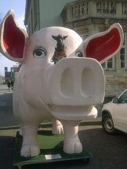 SchweineMuseum in Stuttgart - in/near the Black Forest, east of Baden-Baden