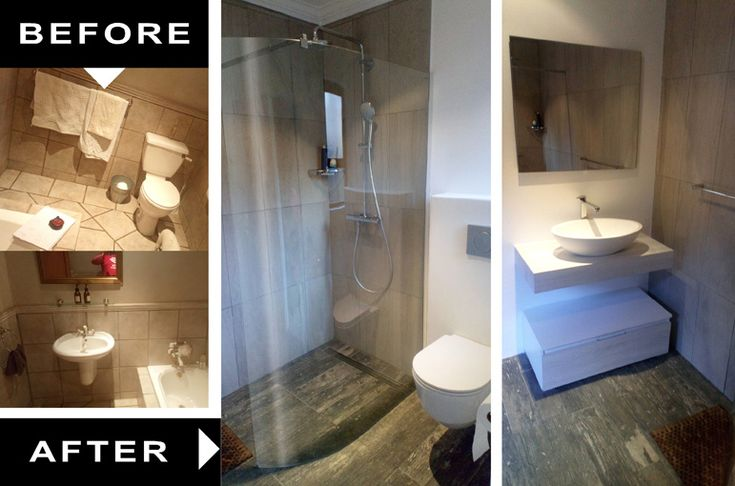 Bath tub to shower conversion and refurbishment