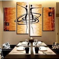 New Arrival! MODERN ABSTRACT OIL PAINTING CANVAS ART Abstract ...