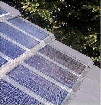 En exclusivité : la tuile en verre photovoltaïque