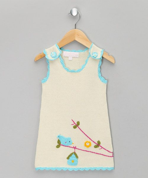 Look at this Cream Birdcage Jumper - Infant