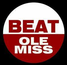 Beat Ole Miss ALABAMA Football