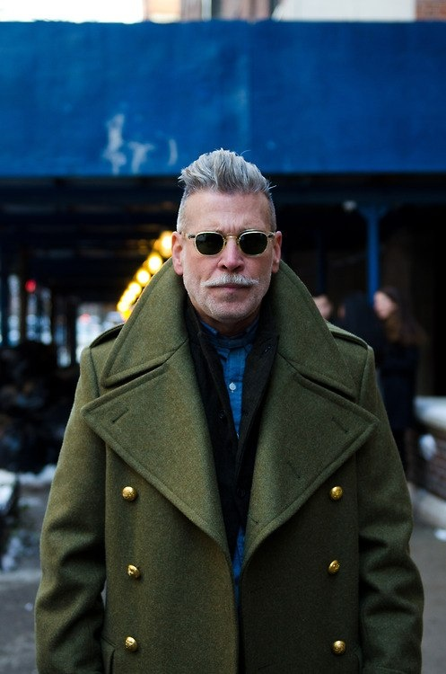 Nick Wooster - that coat is EVERYTHING!!! #mensWear #menstyle
