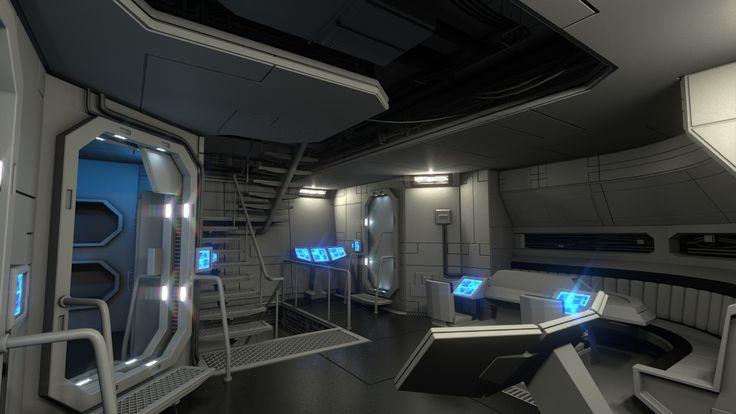 Mejores 344 im genes de spaceship interiors en pinterest for Interior nave espacial