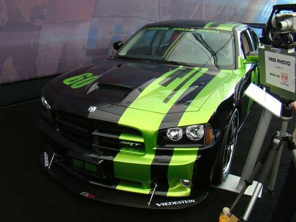 Dodge Challenger Custom Paint Jobs >> Custom Dodge Charger SRT8 at the 2007 SEMA Show | Dodge Charger | Pinterest | Cars, The o'jays ...