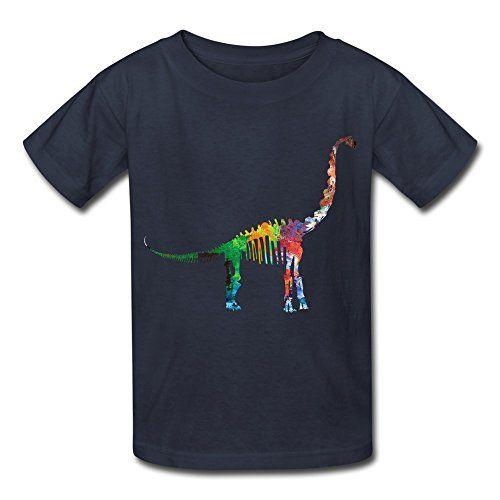 Kids Boys Girls T-shirt Jurassic World 4 Tanystropheus Navy Size XL